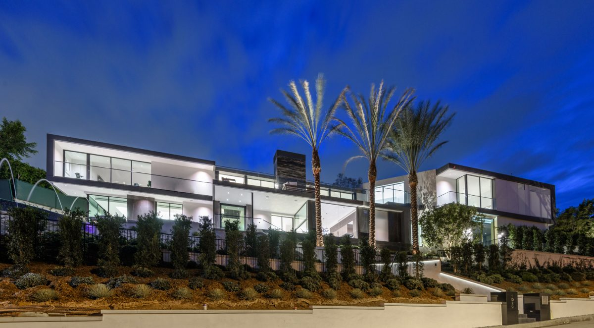 Modern Home in Holmby Hills